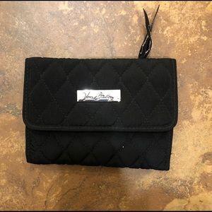 NWOT Vera Bradley black wallet.